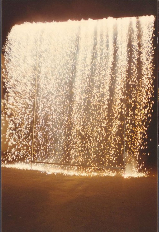 Indian-wedding-fireworks-waterfall