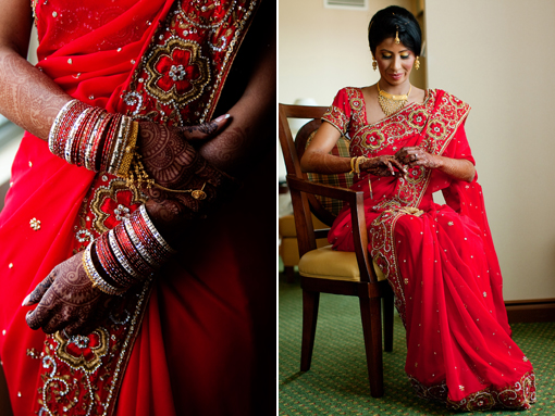 Indian wedding sari copy