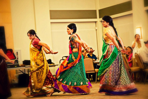 Indian wedding garba 2