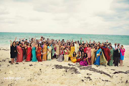 Indian wedding destination beach 8