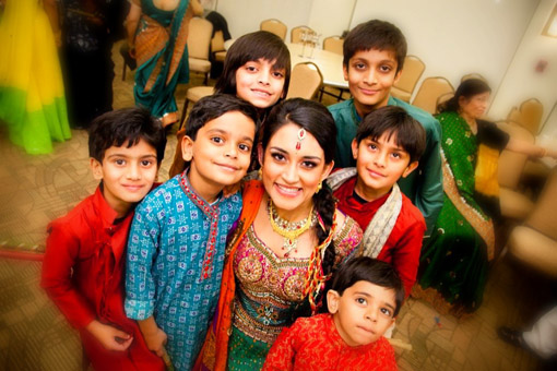 Indian wedding garba 3