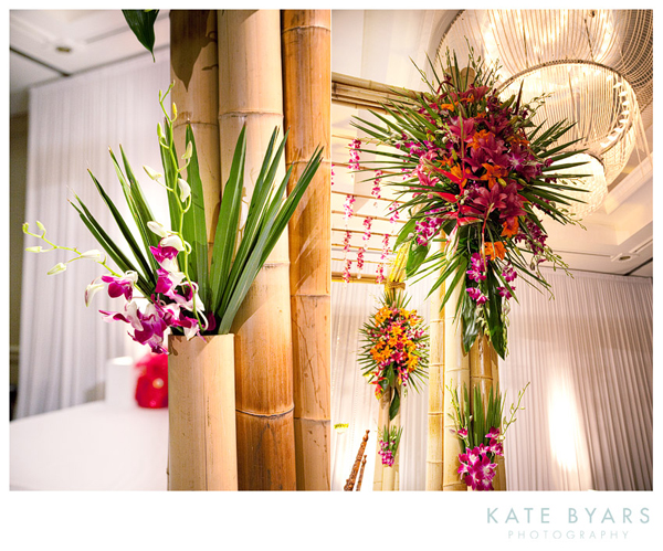Bamboo mandap by kate byars photography maharani weddings reception junglespirit Choice Image