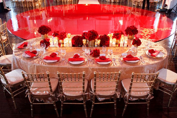 Red gold eye candy galore maharani weddings from exquisite events junglespirit Choice Image