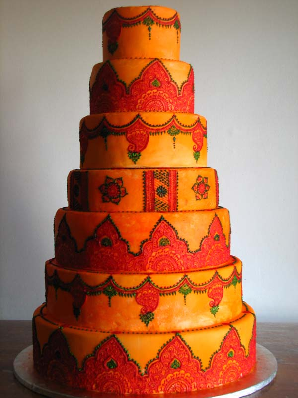 Cake Images Ruchi : Mehndi Maharani Finalist : Ruchi & Mansi Maharani Weddings