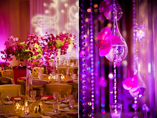 Florida Indian Wedding Reception by Sona Photography - Maharani