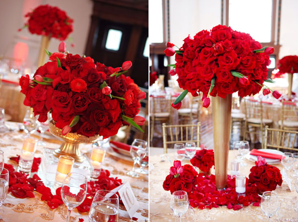 Awesome Red And Gold Weddings Contemporary - Styles & Ideas 2018 ...