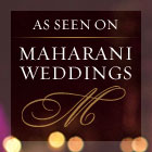AS SEEN ON MAHARANI WEDDINGS
