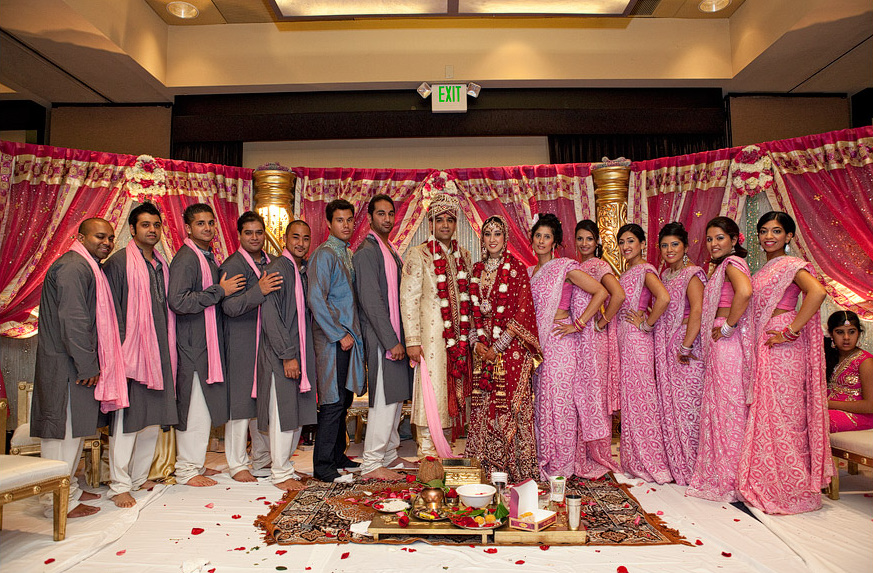 Bride And Bridesmaids Bridal Party