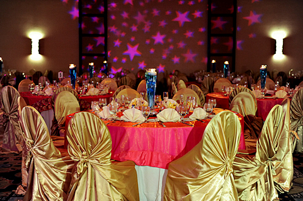 Red And Gold Ballroom Wedding Quotes