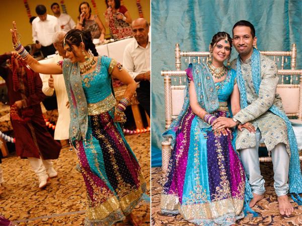 delightful boston indian wedding the garba maharani