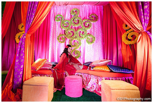 Summer indian wedding inspiration by design house decor for Home decor ideas for indian wedding