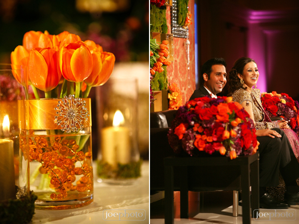 indian wedding floral and decor ideas for modern wedding reception