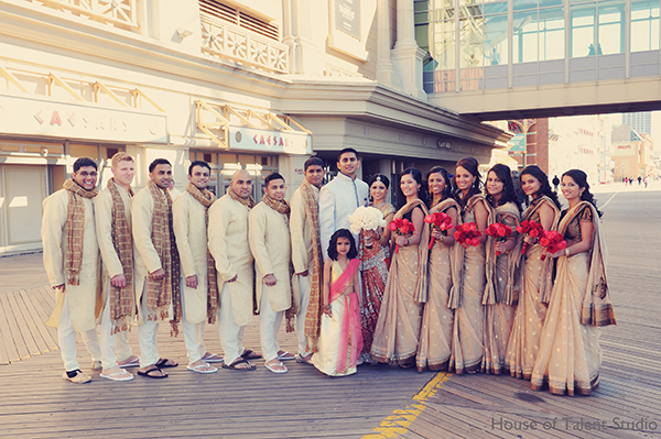 Atlantic city indian wedding by house of talent studio for Asian wedding house decoration