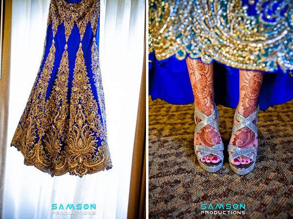 Raja Rani Bridal Mehndi Designs : New jersey indian wedding by samson photography maharani