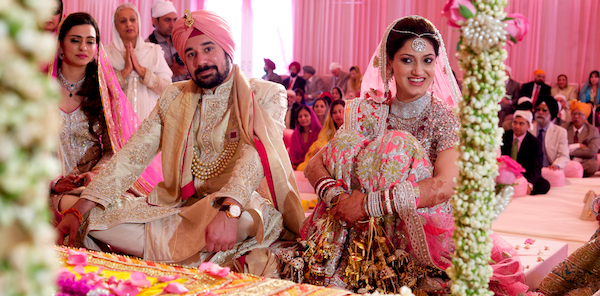 New delhi india indian wedding ceremony by cb art photography shivani and ruebens wedding reception is not going to disappoint lets go for a quick outfit change and i will see you there junglespirit Image collections