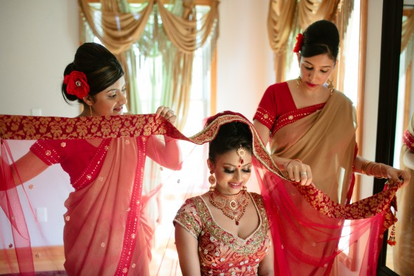 North attleboro massachusetts indian wedding by nicole chan more junglespirit Image collections