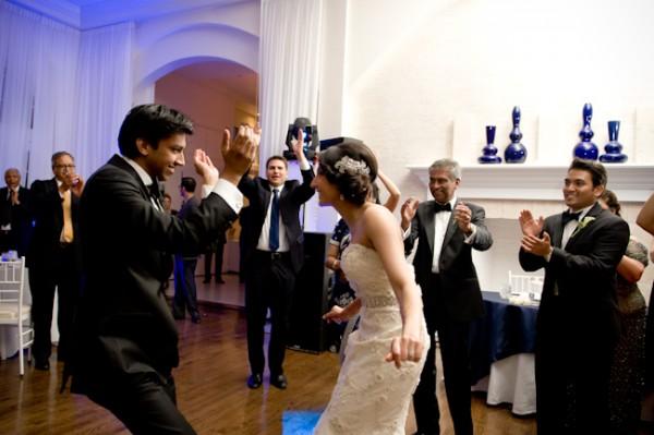 Ritzy cinema wedding