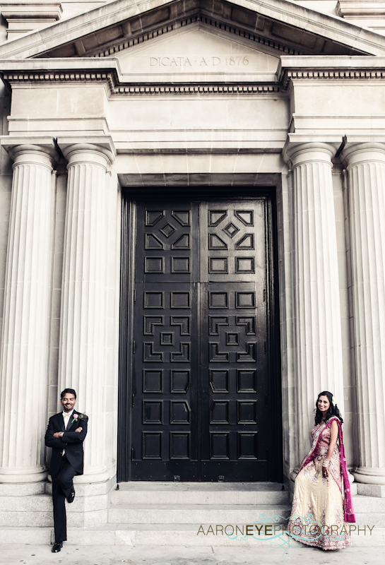 Los Angeles California Indian Wedding By Aaroneye Photography
