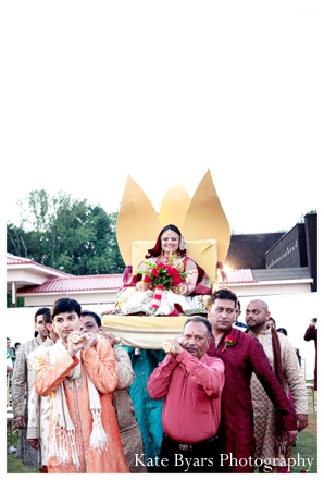 Indian wedding photography captures this modern Indian wedding ceremony.