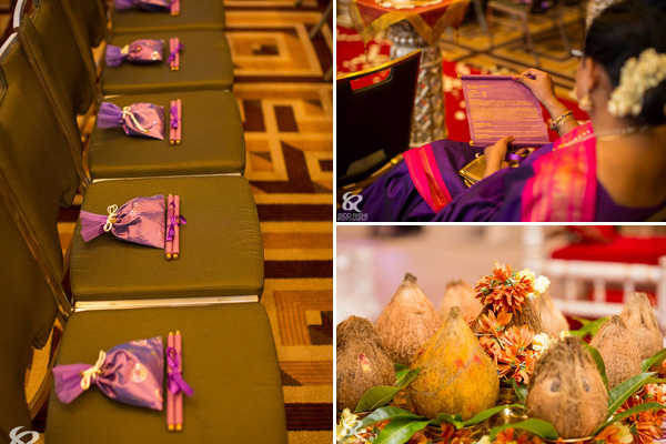 Indian wedding ideas from a fusion Indian wedding.