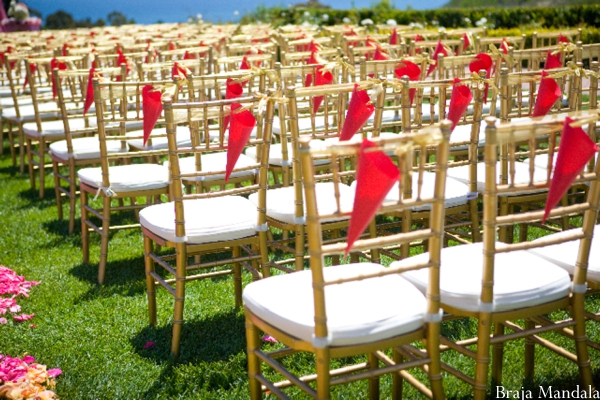 Indian wedding decor ideas for outdoor seating.