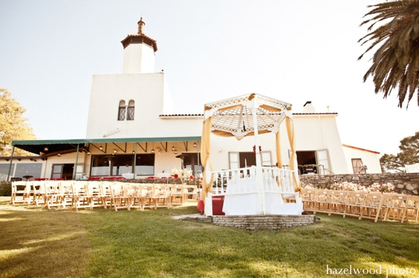 Fusion Indian wedding ideas at this California Indian wedding.