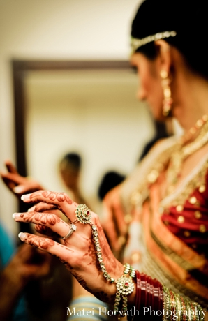Bridal mehndi shown in professional Indian wedding photography.
