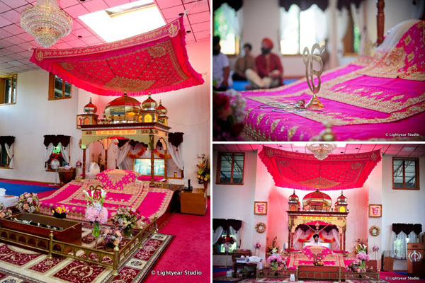 Sikh Indian wedding ideas with a pink theme.