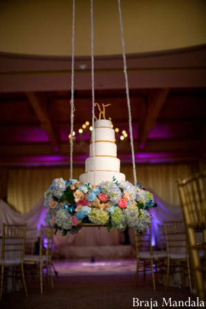 Indian wedding cake ideas for a lavish modern reception.