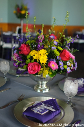 Indian wedding decor ideas for floral centerpieces.