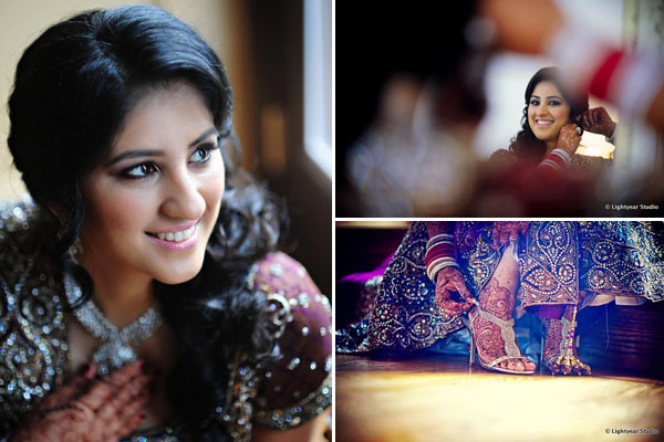Indian wedding photography with an Indian bride in New York.