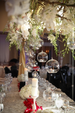 Modern wedding reception ideas at a Sikh indian wedding.