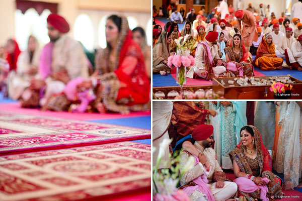 A Sikh Indian wedding in New York.