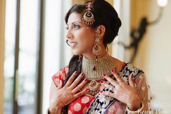 indian bridal jewelry set for modern indian bride.