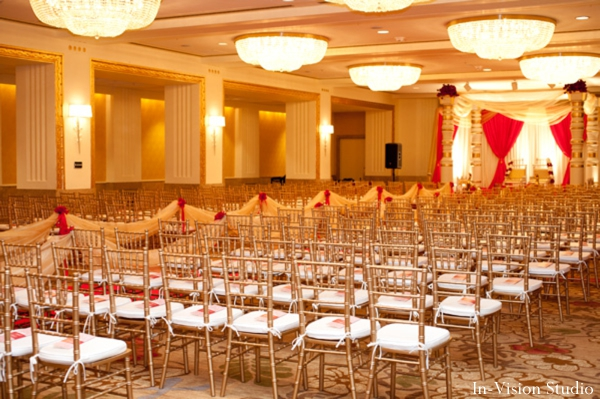 Classic indian wedding by in vision studio pittsburgh for Hotel wedding decor