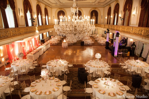 Ideas for Indian wedding reception in ballroom