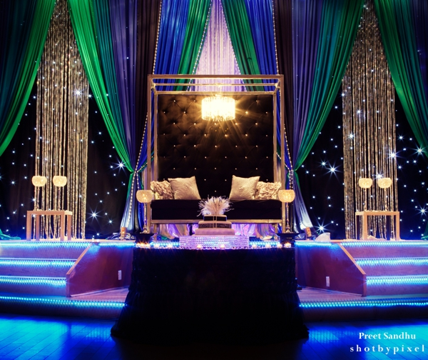 Dramatic indian wedding by shot by pixel photography toronto decor ideas for indian wedding reception junglespirit Images
