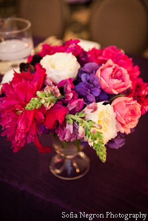 Floral ideas for indian wedding reception.