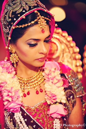 hair and makeup ideas for modern indian bride