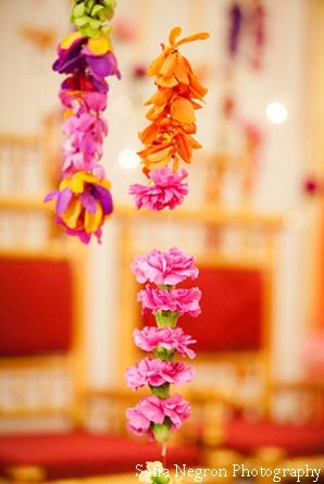 Flower decor ideas at indian wedding ceremony