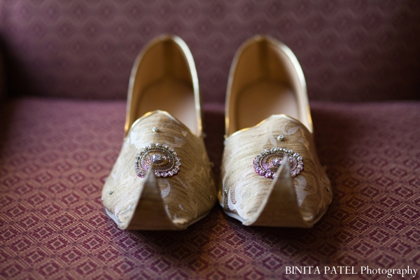 Traditional indian wedding shoes for Indian groom