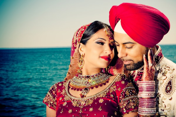 Hair and makeup ideas for traditional indian bride.