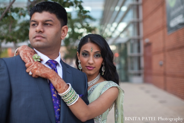 Indian bridal makeup ideas for a indian wedding reception.