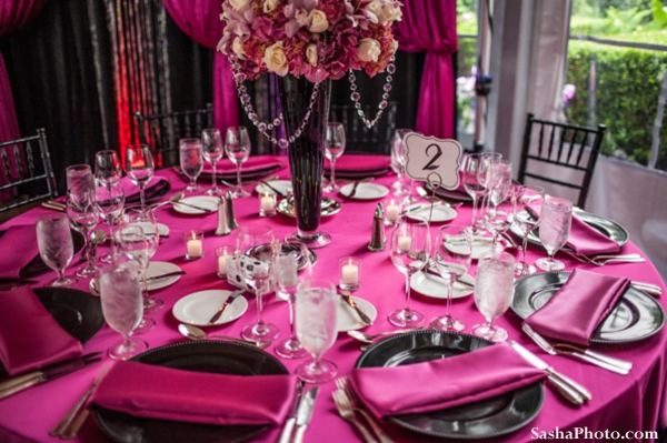 Table setting decor ideas for indian wedding reception.