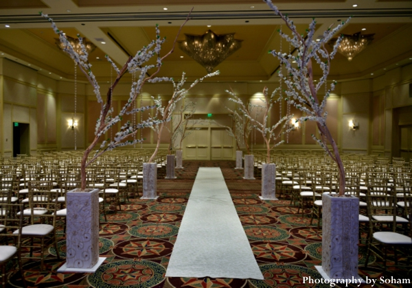 indian wedding ceremony floral and decor ideas.