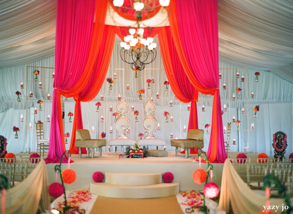 contemporary indian wedding in pink and white by yazy jo itasca illinois maharani weddings. Black Bedroom Furniture Sets. Home Design Ideas