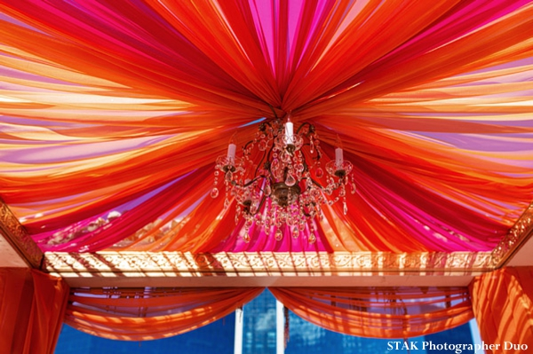 Fabric mandap ideas for indian wedding