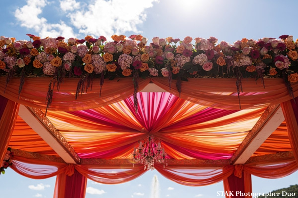 Indian Wedding Mandap And Floral Decor Ideas