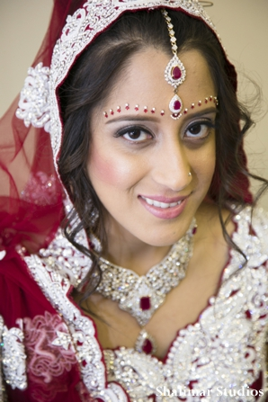 Indian bridal hair and makeup ideas