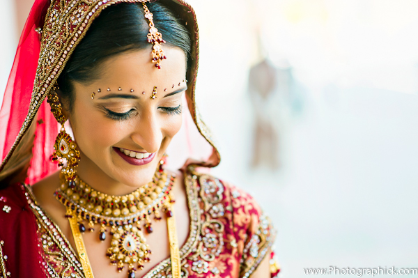 Indian Bridal Hair And Makeup Baraat By Photographick Studios Baltimore Maryland